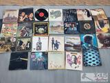 26 Vinyl Records/Albums, Pink Floyd, The Doors, George Carlin, and More