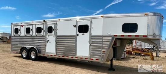 2007 Hart Ultimate Gooseneck Four Horse Trailer( Watch Video )