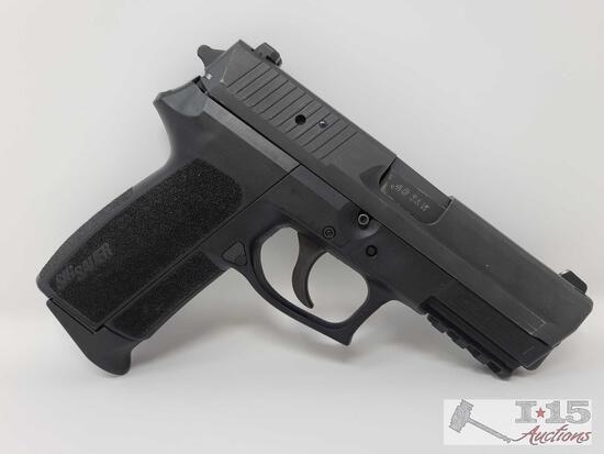 Sig Sauer SP2022 .40 S&W Semi-Auto Pistol With 2 10 Round Magazines