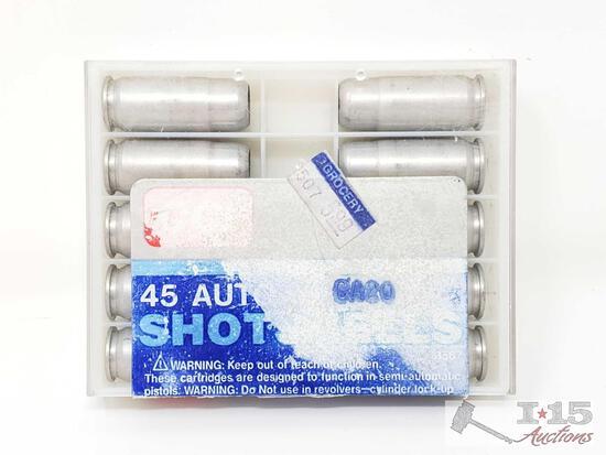 10 Rounds Of 45 Auto Shotshells