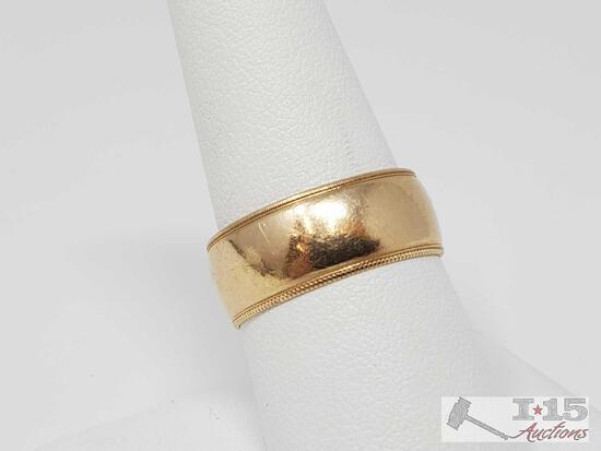 14k Gold Band, 5.54g
