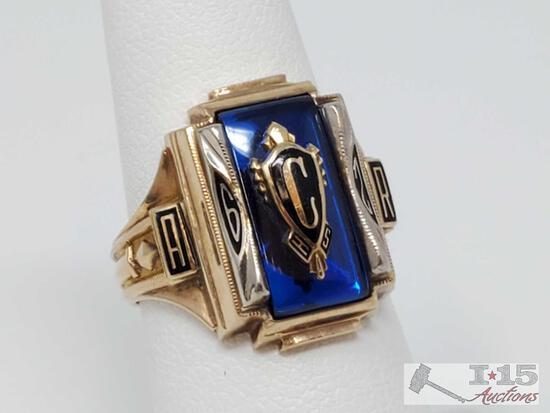 10k Gold Class Ring, 9.13g