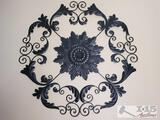 Large Metal Wall Decor - Approx 50
