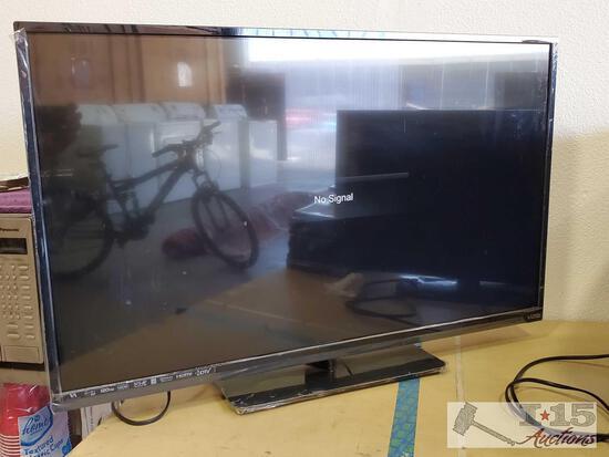 """42"""" Vizio Tv with Power Cord, No Remote."""