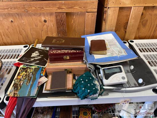 Jewelry Boxes, Picture Frames, Post Cards and More