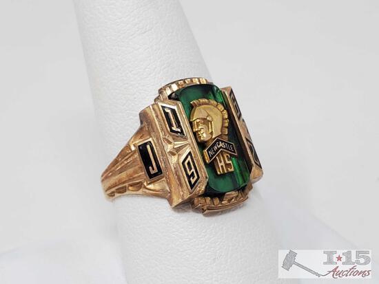 10k Gold Class Ring- 8.9g