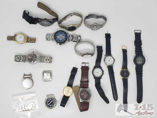 Watches, Watch Faces, and A Watch Band