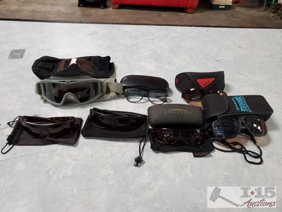6 Pairs Of Glasses And Goggles