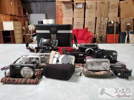 Approx. 10 Cameras
