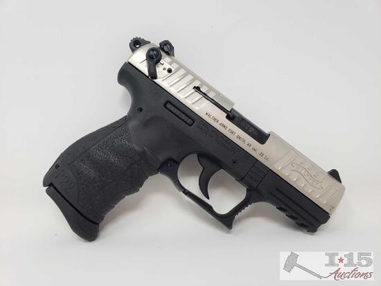 Walther P22Q Semi Auto .22lr Pistol