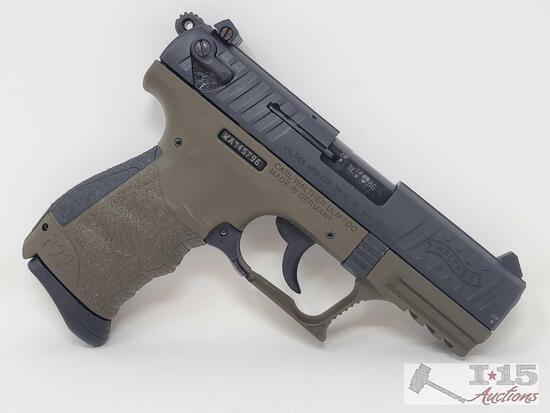 Walther P22 CA .22LR Semi-Auto Sport Pistol With 1 Magazine