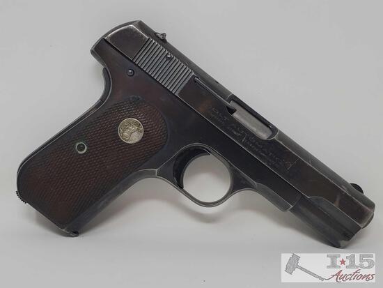 Colt M1903 .380 CAL Semi-Auto Pistol With 2 Magazines
