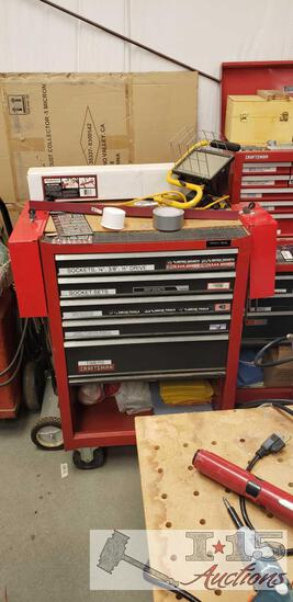 Craftsman 5 Drawer Tool Box With Screw Driver Boxes Tools Included