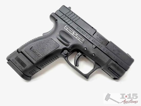 Springfield XD9801 Cal 9x19 Pistol BRAND NEW IN BOX