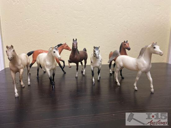 7-Breyer Horse Stablemate Colletion