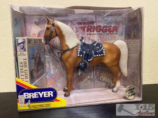 Breyer Roy Rogers Trigger Hollywood Horses Series Collectable Still in Box