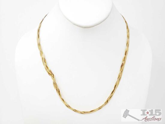 14k Gold Chain, 15.1g