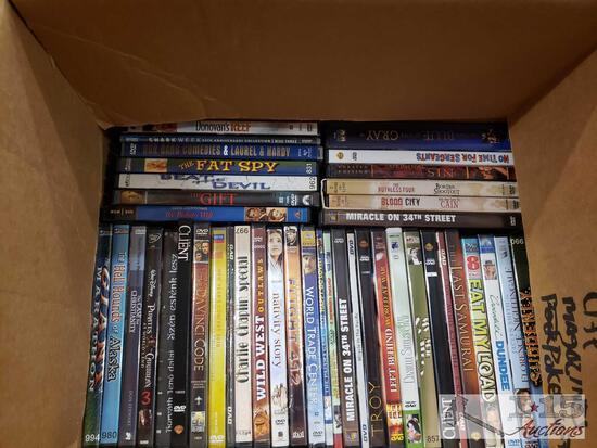 DVD'S, Life Magazines