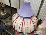 5 Lamps and Various Lamp Shades