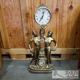 Quartz Goddess Clock