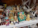 Cherished Teddies Bears and Dove Figurines