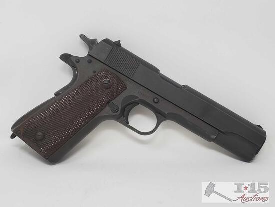 Colt 1911 .45 Cal Semi Auto Pistol