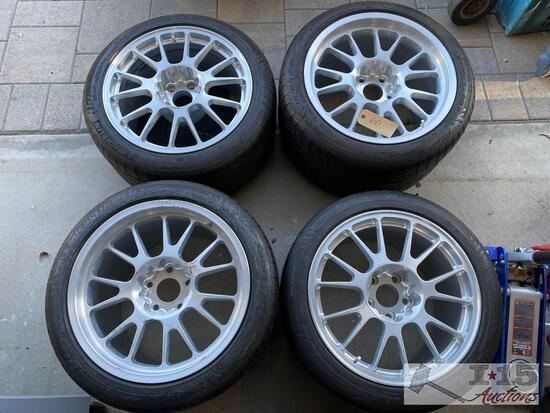 Custom Aluminum 18? wheels For Corvette Z06