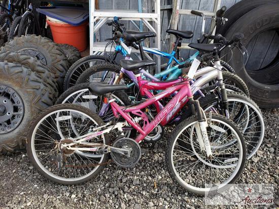 5 Mountain Bikes