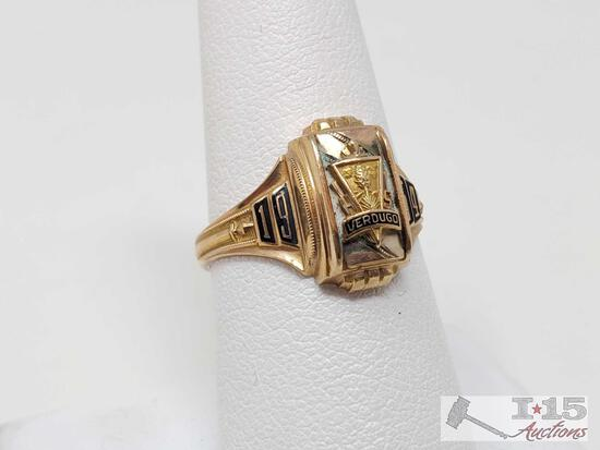 10k Gold Class Ring, 4.3g