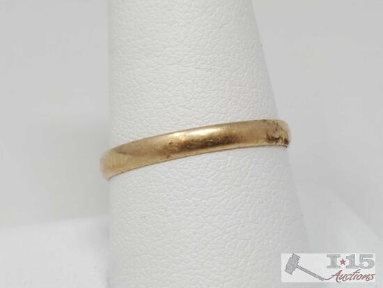 10k Gold Band, 1.3g