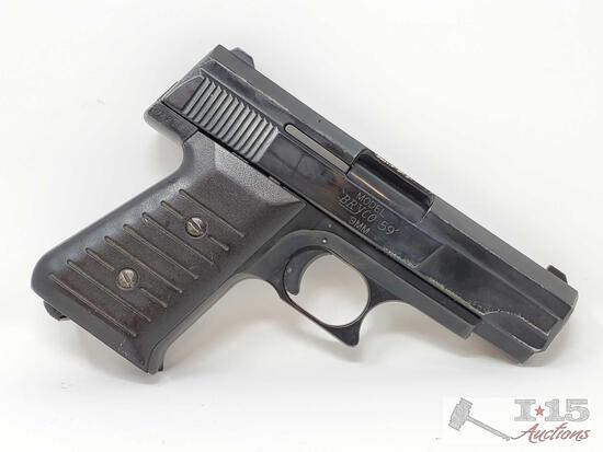 Jennings Firearms Bryco 59 9mm Semi-Auto Pistol