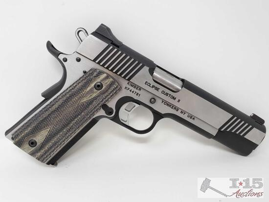 Kimber Eclipse Custom ll 10mm Semi-Auto Pistol