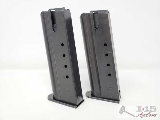 Two Desert Eagle .50AE 7 Round Magazines