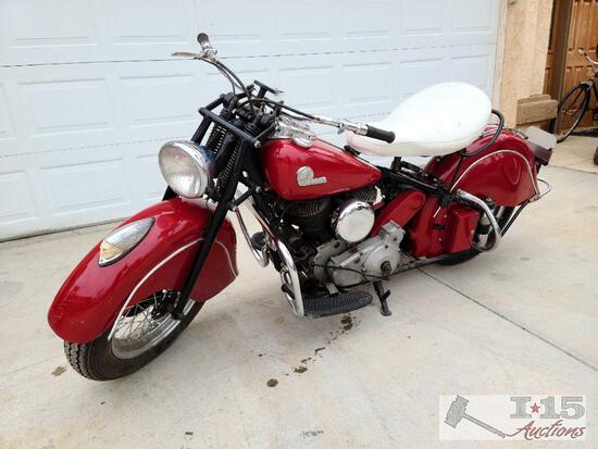 1946 Flathead Indian Motorcycle