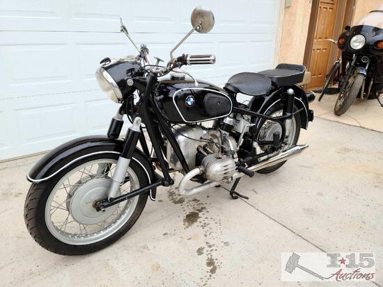 1955 Vintage BMW Motorcycle