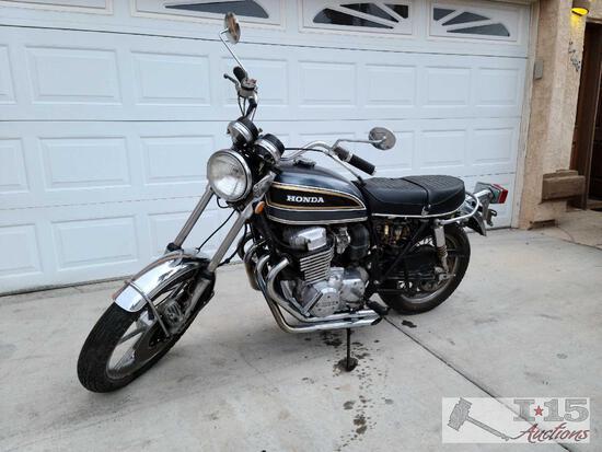 1974 Honda 750 Tour Motorcycle