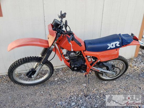 1983 Honda XR200R