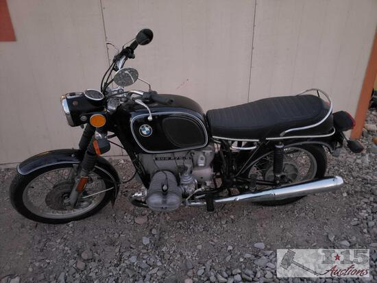 1973 BMW R75/5 Motorcycle