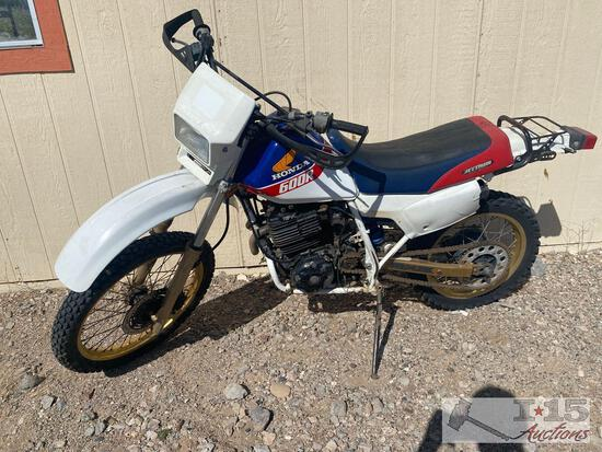 1986 Honda 600r