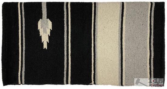"""NEW 32"""" x 64"""" Acrylic top southwest design saddle blanket"""
