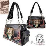 NEW Concealed Carry Skull Handbag