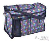 NEW Unicorn printed nylon cordura grooming carrier with durable nylon shoulder straps.