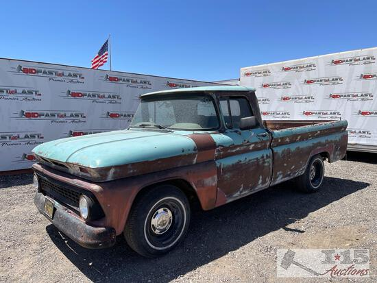 1963 Chevrolet C10 with Buick Engine,