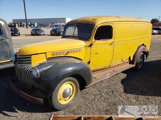 1942 Classic Chevrolet Panel Van