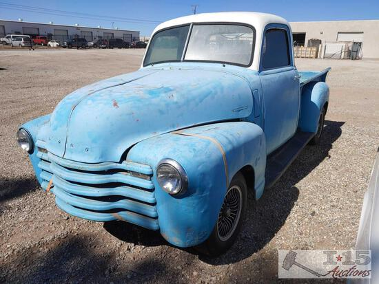 1951 Chevy Step Side Pickup