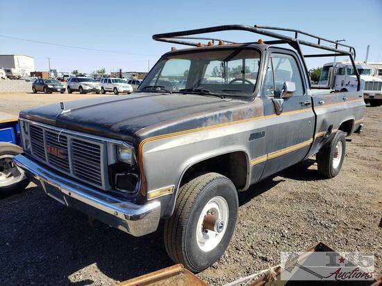 1986 GMC K3500 4X4