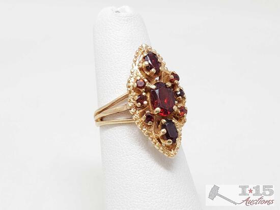 14k Gold Ring, 4.6g