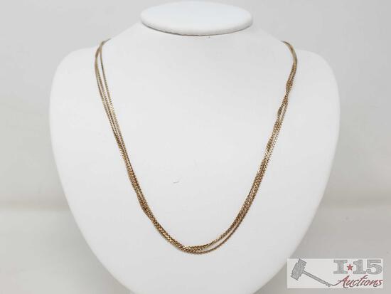 14k Gold Necklace, 12g