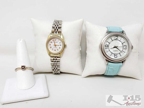 2 Watches And Ring