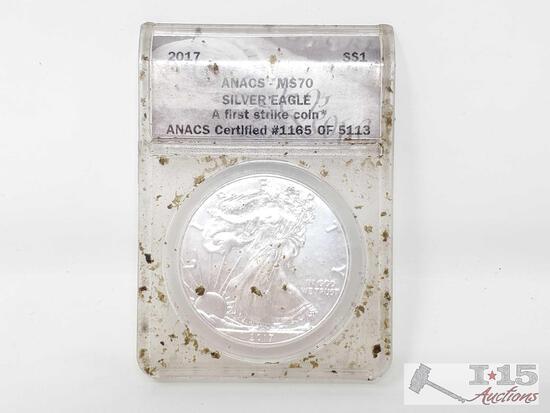 2017 Silver Eagle Coin
